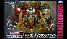Transformers Unite Warriors UW-05 Convoy Grand Prime  Sealed case fresh Takara