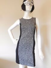 BASQUE   BLACK  AND GREY AND WHITE  DRESS SIZE 8