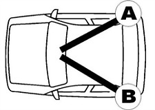 QH BC3245 Brake Cable Rear LH