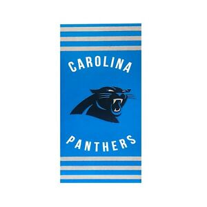 "New Football Team Carolina Panthers Beach Towel Bath 30'' x 60"" Licensed"