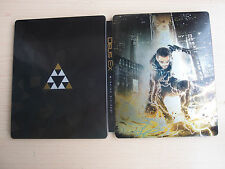 Deus Ex: Mankind Divided Steelbook Steelcase PS4 Xbox One PC  *No Game*