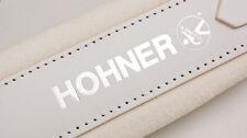 New Hohner Straps - ACC12 White Accordion Leather Straps Large Anacleto Corona