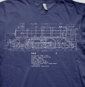 Stanier black 5 live steam model railways LMS trains BR t shirt
