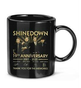 Get in #Good #Shinedown 19th #Anniversary Thank You Memory Best Gift Coffee Mug