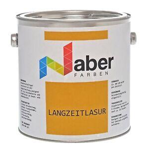 2,5 L Langzeitlasur für Holz, Mittelschichtlasur, verschiedene Farben