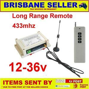 Remote control Receiver Transmitter 12v 24v 36v 240v  1, 2, 4, 6, 8 & 12 Channel