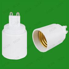 G9 To Edison Screw ES E27 Light Bulb Adaptor Lamp Socket Base Converter Holder