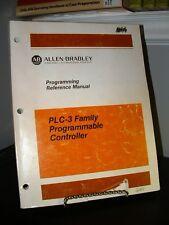 Allen Bradley PLC-3 Programmable Logic Controller PLC Programming Manual SC