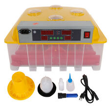 110V 36 Eggs Automatic Incubator Hatching Poultry with Alarm Function Peep Door