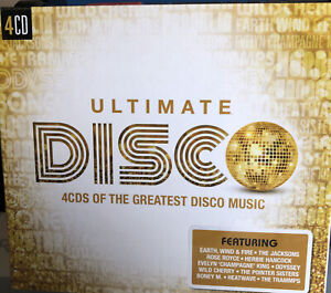 ULTIMATE DISCO 4CDs Of The Greatest Disco Music - New & Sealed Free Post U.K.