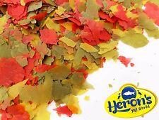HERONS 200g Multi Vitamin Flakes TROPICAL FLAKE FISH FOOD Cichlid Goldfish Tetra