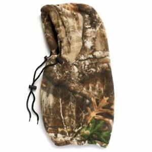 HOT SHOT Men's Camo Challenger 4-in-1 Hood – Realtree Facemask/Balaclava/Gaiter