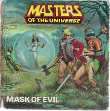 MASTERS OF THE UNIVERSE Mask of Evil (1985) Hasbro color hardcover (no record)