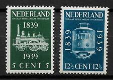 Nederland 100 jaar Spoorwegen NVPH 325-326