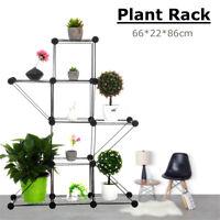 5 Tier DIY Shelves Flower Pot Plant Stand Display Indoor Outdoor Garden Rack