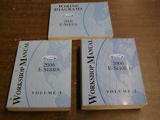 OEM Ford 2006 Econoline Van Shop Manuals Books nos E150 E250 E350 Manual