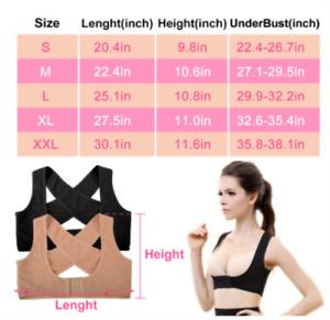 Women Back Brace Support Belt Posture Corrector  Posture Shoulder Corrector Back