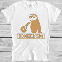 Nice Marmot T Shirt The Big Lebowski Movie Quote Funny Dude Cool Gift Tee 5121