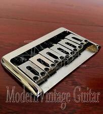 1  Modern Vintage Guitar  HD  Hardtail  Bridge Strings Thru  Body  BLACK NICKEL