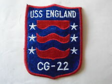 PATCH US NAVY USS ENGLAND CG-22 / MARINE CORPS USA