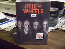 Hell on Wheels: The Complete Series   (DVD, 2016)   Brand NEW w/Slipcover   AMC