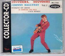 Johnny HALLYDAY Collector-CD scellé 4 titres Vogue Souvenirs