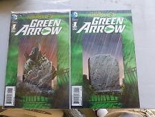 GREEN ARROW  # 1  3 - D COVER  THREE COPIES