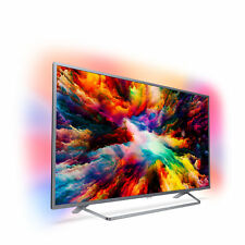 Led TV Philips 50'' Ambilight X3 50pus7303 (2018) 4K Uhd/ Quad Core/ Ultrapl