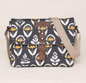 Brakeburn Geo Floral Roo Pouch Cross Body Bag