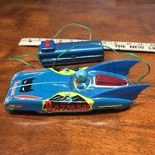Batmobile Tin Litho Remote Control Aoshin Japan Vintage Asc Batman 1960's Dc
