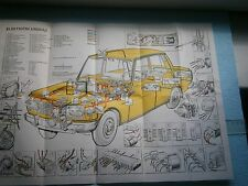 WARTBURG VINTAGE AUTO MANUAL BOOK CAR USAGE INSTRUCTION REPAIR GUIDE