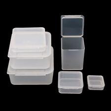 Mini Coin Drug Chip Capsule Holder Clear Multipurpose Storage Box Display Case