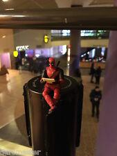 Deadpool Amc Prime (D) Premium Miniature Figurine (Movie Premiere) + Bonuses to