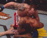 SHANE CARWIN SIGNED UFC 8X10 PHOTO 2