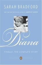 Diana Finally the Complete Story Sarah Bradford New Royal Book