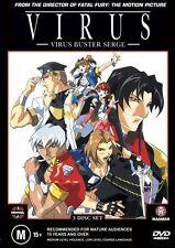 Virus : Vol 1-3 (DVD, 2003, 3-Disc Set) - Region 4