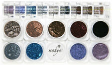"MAHYA ""Gothic"" 100% Pure Crushed Minerals 9 Colors Stack for Eye,Lip,Nail,Hair"