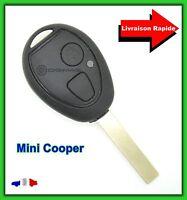 Coque Télécommande Plip Bouton Clé Mini Cooper S one cabriolet R50 R52 R53