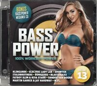 Bass Power 13 (2 x CD) Fatboy Slim/Riva Starr/Klingande/Electric Lady Lab/Verano