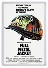 Full Metal Jacket Fridge Magnet. Movie Poster Art. Vietnam Wsr
