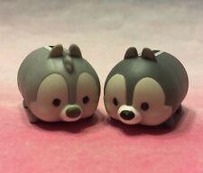 Disney Tsum Tsum Stack Vinyl Black and White Chip and Dale MEDIUM VHTF!!