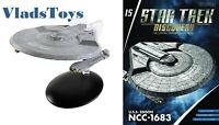 USS Edison NCC-1683 Hoover-class Eaglemoss Star Trek Discovery Issue 15 w/Mag