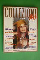 Magazine Collezioni Donna Bis N. 35 Otoño/Invierno 1993/94 Moda Popolo Nómada
