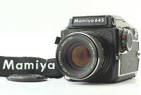 【MINT】Mamiya M645 + Waist Level Finder + Sekor C E 70mm f/2.8 From Japan 994