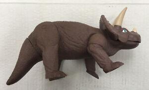 "Playskool Vintage Definitely Dinosaurs Dozer Triceratops 1987 action figure 13"""