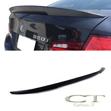 Unpainted ABS BMW F10 5er Performance High Kick Rear Trunk Spoiler 4DR 10-15
