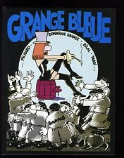 GRANGE BLEUE  PICHARD / TARDI / BILAL / Dominique GRANGE   FUTUROPOLIS  EO 1985