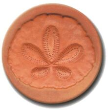 "RYCRAFT 2"" Round Cookie Stamp with Handle & Recipe Booklet--SAND DOLLAR"