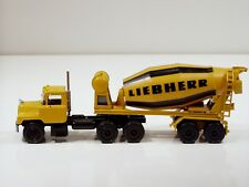 Mack Liebherr Cement Mixer - 1/50 - Conrad #3650 - No Box
