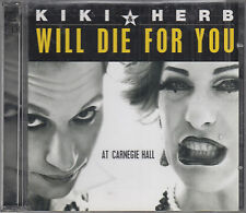 Kiki & Herb : Will Die For You 2CD At Carnegie Hall Chanson Parody Comedy